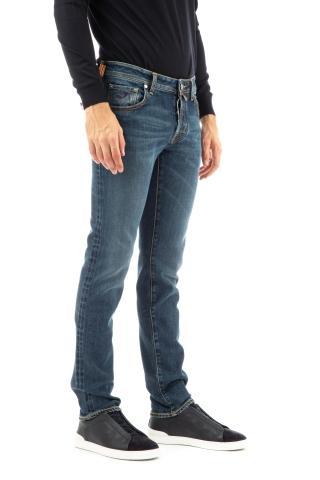 Jeans limited edition etichetta bordeaux nick fit