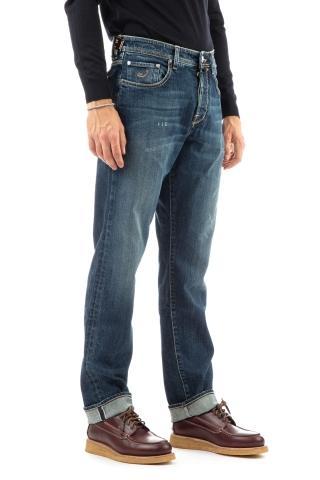 Jeans limited edition etichetta bianca harrison fit