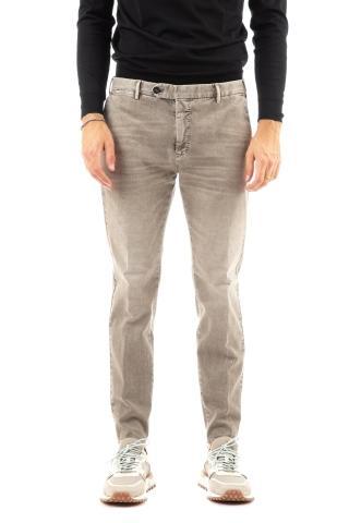 Pantalone in cotone delave' mod. spark
