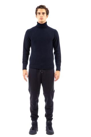 Maglia dolcevita in lana-cashmere