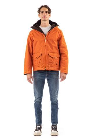 Blazer coat in cotone