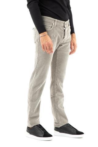 Jeans 5 tasche color in velluto mod. nick slim
