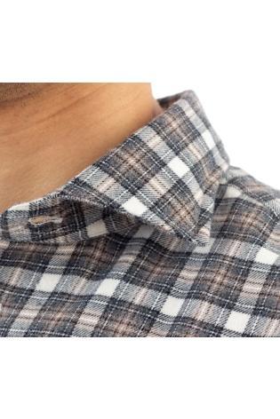 Camicia check in flanella