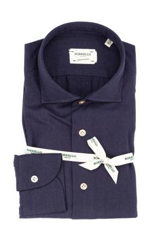 Camicia in lana-cotone