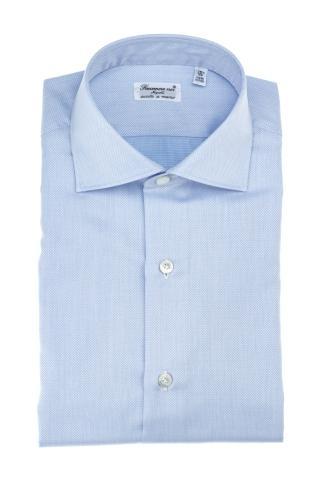 Camicia sartoriale in cotone alumo linea milano