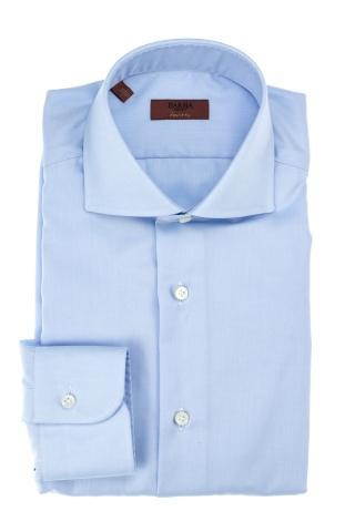 Camicia in twill di cotone etichetta journey