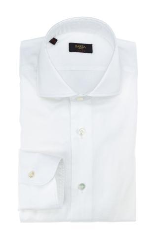 Camicia in cotone washed etichetta culto