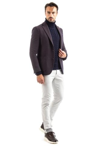 GIACCA IN LANA-COTONE LINEA PULL-JACKET