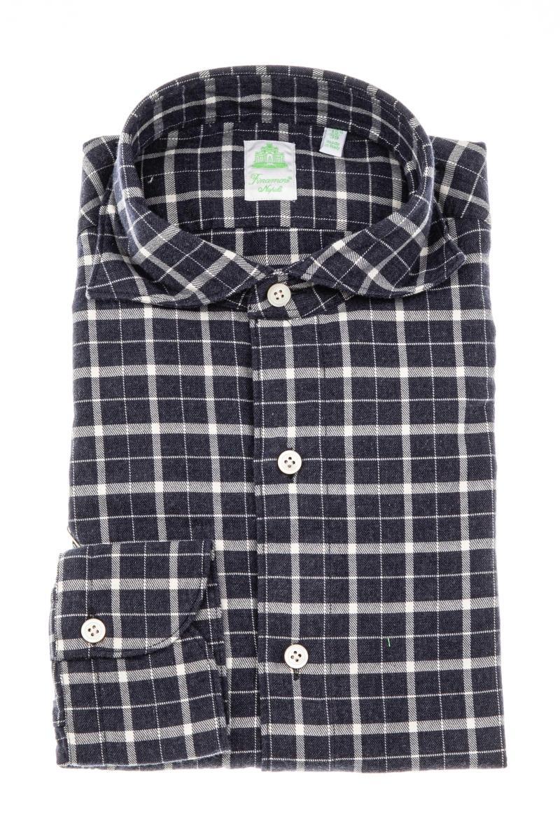 camicia in flanella di cotone linea tokyo