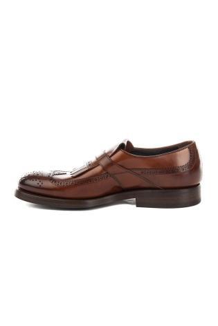 scarpa monofibbia con frange