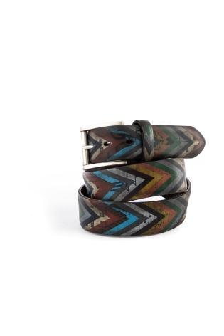 Cintura artigianale in pelle