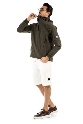 Giubbino casacca in tessuto tecnico cp shell