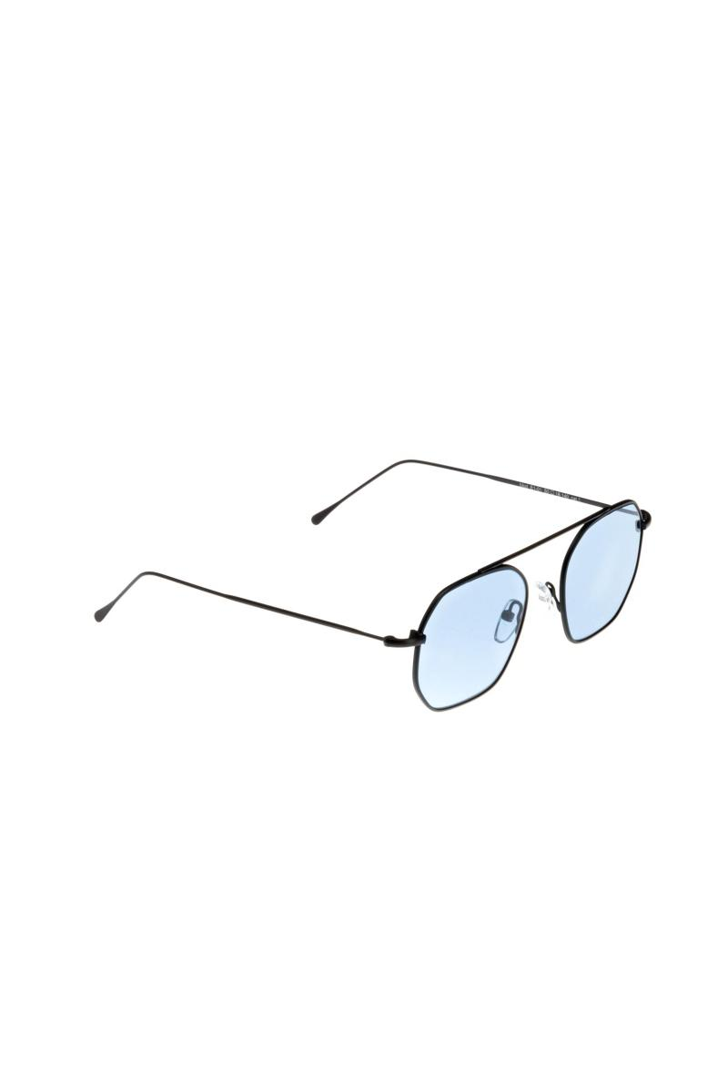 occhiali a lente esagonale