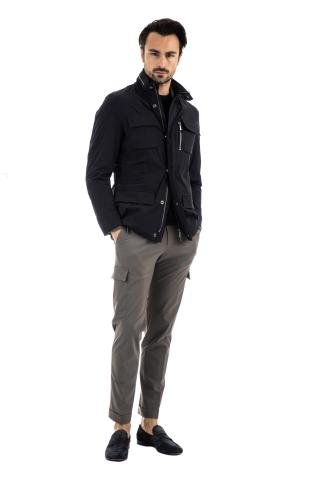 FIELD JACKET IN TESSUTO TECNICO STRETCH SUPERLIGHT
