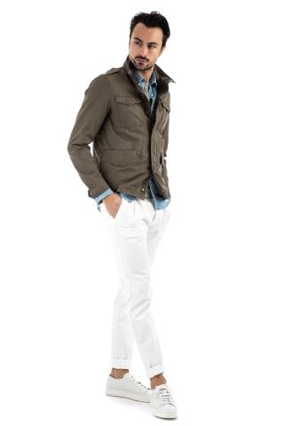 FIELD JACKET IN COTONE