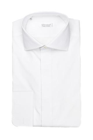 Camicia sartoriale con polsino gemello
