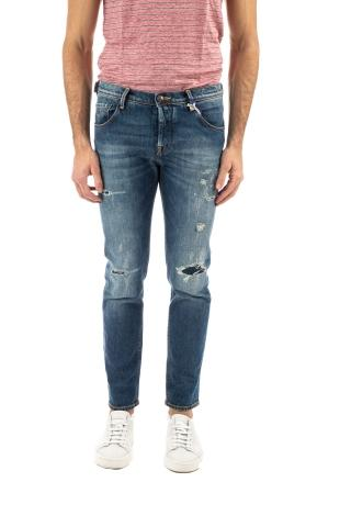 JEANS SPECIAL EDITION CON ROTTURE FIT J682