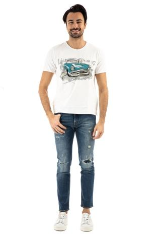 T-SHIRT DIPINTA A MANO MODELLO OLD CAR